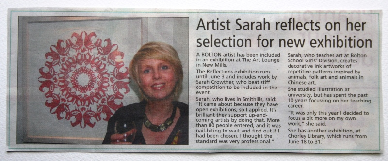 Sarah Crowthr Bolton Evenng News